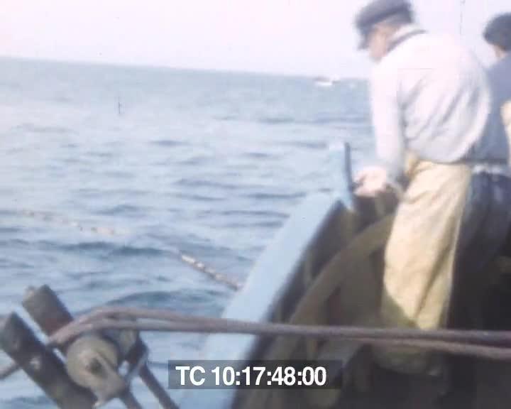 Pêche au filet tournant, les sardines | André Garnier