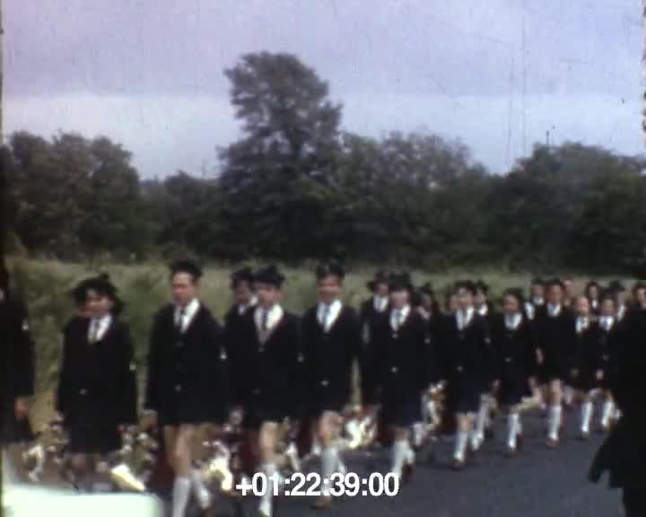 1966/67 Bagad Moulin vert