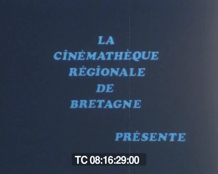 Titre : La Cinémathèque Régionale de Bretagne présente