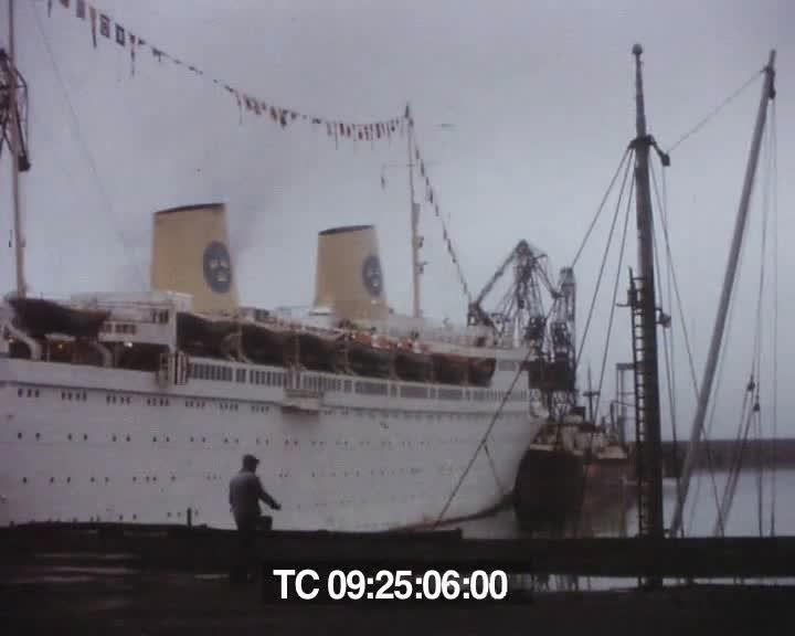 Chutes Brest et la mer