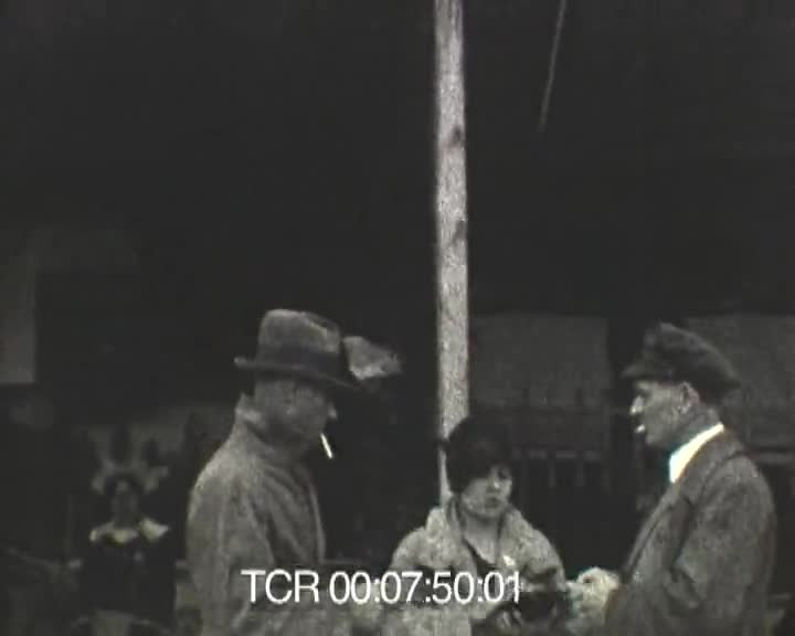 Février 1927, Le Pouldu, 1er film
