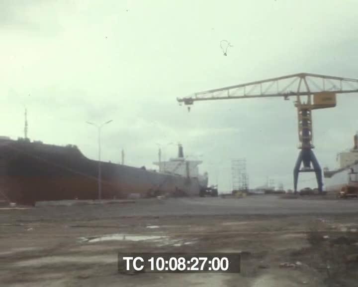 Travaux sur le port de Brest