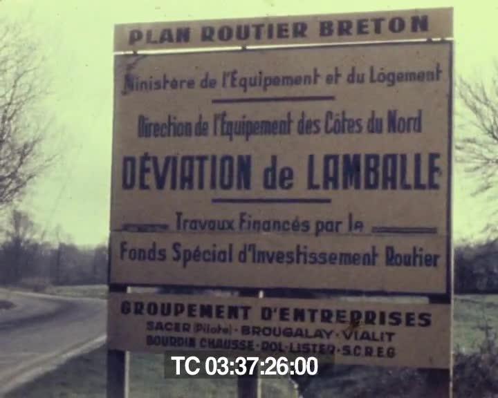 Grands travaux routiers dans les Côtes-du-Nord