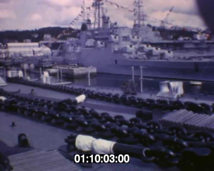 Marine Nationale à Brest (rushes)