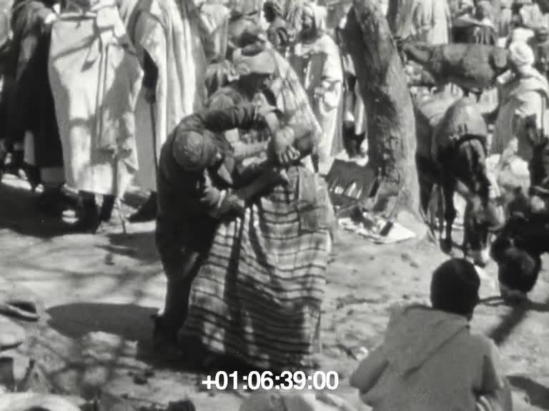 En Algérie, vacances de Pâques 1938