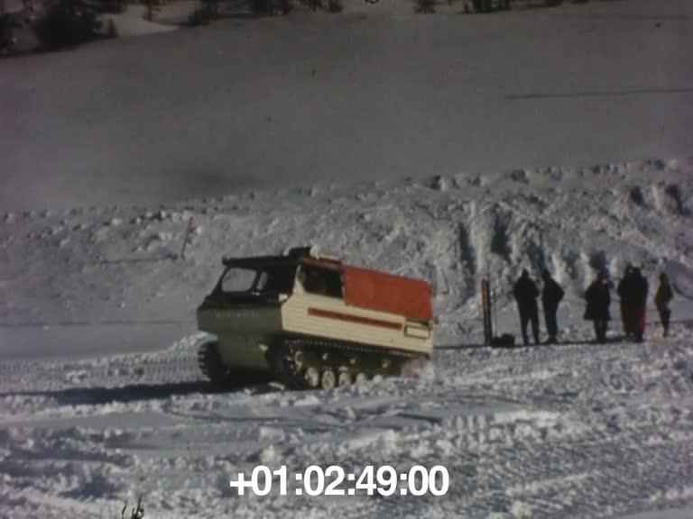 Essais véhicule HB 40