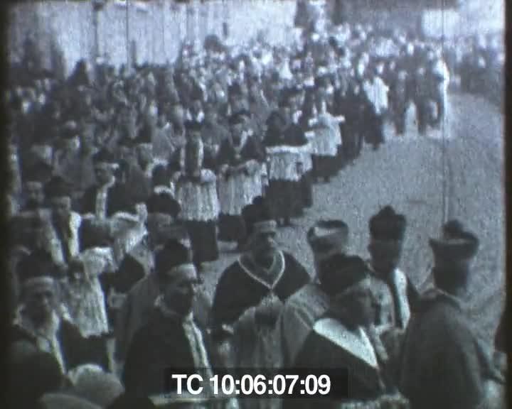 Obsèques du cardinal Charost, Rennes, 13 novembre 1930