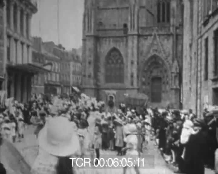 Dans le Finistère 1922