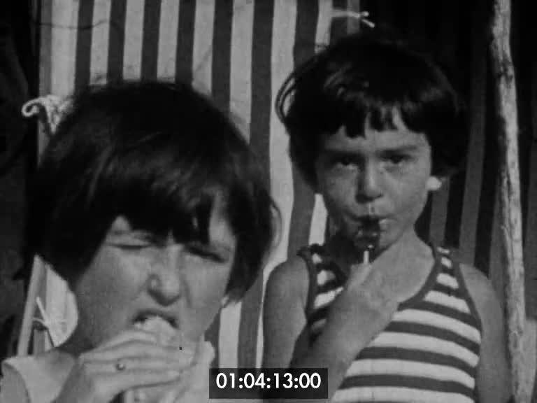 Vacances à Pornichet 1929 | Odette Guilloux