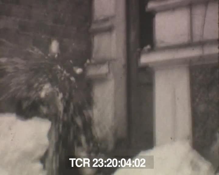 Suresnes sous la neige 46, la Rance, Ecole à Fougères 47 | Louis Le Meur
