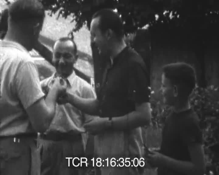 Vacances 1950   Edmond Huvé